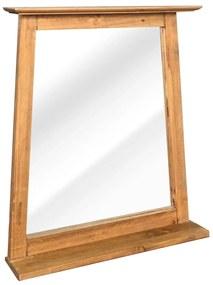 vidaXL Kúpeľňové zrkadlo z recyklovaného borovicového dreva 70x12x79 cm