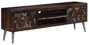 vidaXL Skrinka na TV, recyklovaný masív 140x30x45 cm