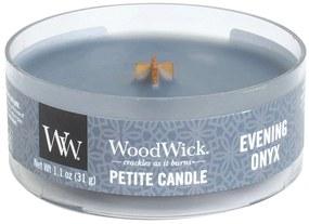 WoodWick vonná sviečka Petite Evening Onyx