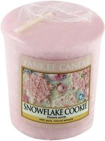 Sviečka Yankee Candle Cukrová vločka, 49 g