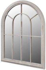 vidaXL Rustikálne záhradné zrkadlo 69x89 cm, do interiéru a exteriéru
