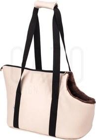 Prepravná kabelka pre psa Mamut Beige 30×40×24 cm