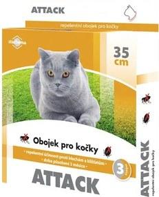 Obojok pre mačky Attack 35 cm