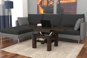 CLEO wenge - rozkladací, zdvíhací, konferenčný stolík