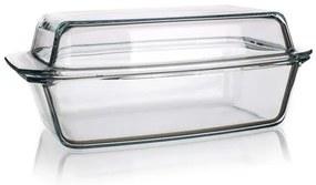 SIMAX Pekáč sklenený hranatý s vekom 5,4 l (3,20 / 2,20) 1871567166