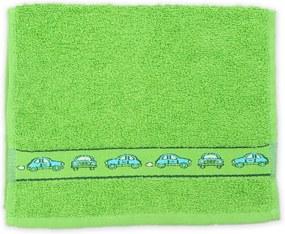 Detský uterák KIDS zelený 30x50 cm