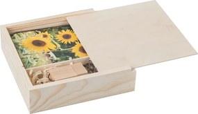 ČistéDřevo Drevená krabička na fotografie