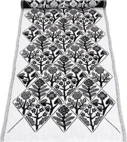Behúň Kukat 48x150, bielo-čierny Lapuan Kankurit