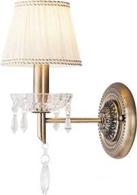 Rábalux Claudia 7278 Nástenné Lampy bronz biely E14 1X MAX 40W 35,5 x 24,5 x 15 cm