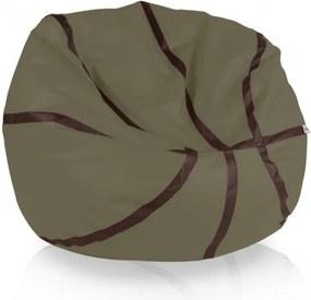 Sedací vak Basketbal bury