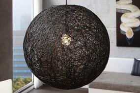 Lampa Wrap čierna 60cm