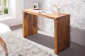 Bighome - Písací stôl MAKASSAR - prírodná