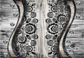 Bimago Fototapeta - Folk inspiration 200x140 cm