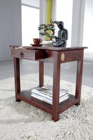 Masiv24 - CAMBRIDGE Príručný stolík 45x61 cm, akácia