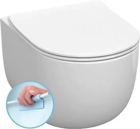 Kerasan Flo 311101 WC závesné NoRim 37x34,5x54 cm