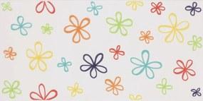 Dekor Fineza Happy mix barev Flower 20x40 cm mat DHAP40FL