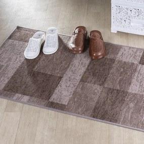 Kusový koberec ICONA hnedá 67 x 350 cm