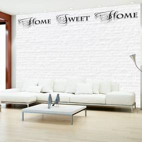 Fototapeta - Home, sweet home - white wall 300x210