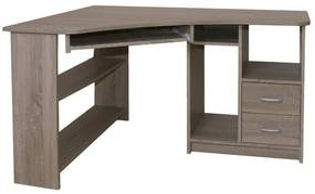Sconto Rohový PC stôl JANA ľavá