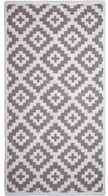 Béžový odolný koberec Vitaus Art, 80 x 200 cm