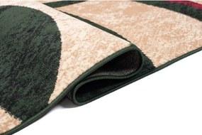 Kusový koberec PP Ray zelený, Velikosti 130x190cm