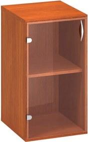 Skriňa, 400 x 458 x 735 mm, sklenené dvere - otváranie vpravo, čerešňa