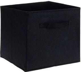 Home collection Úložný box 30x30x30 cm černá