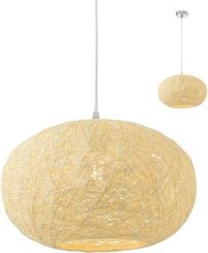 Závesné svietidlo REDO FILOS béžová E27 01-1515