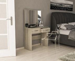 Toaletný stolík dub sonoma Camis