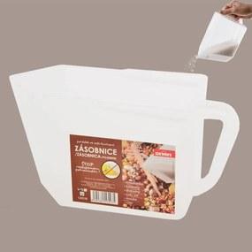 Plastový zásobník na potraviny mliečny