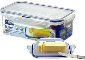 Lock & lock Plastová dóza na maslo, 460 ml, modrá
