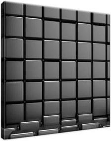Obraz na plátne Šedivé kocky 30x30cm S-2763A_1AI(E)