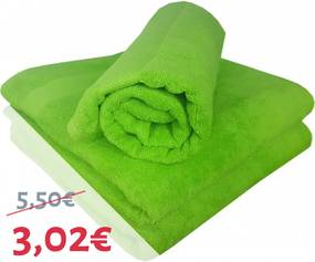 Uterák bavlnený zelený 50x90 cm EMI