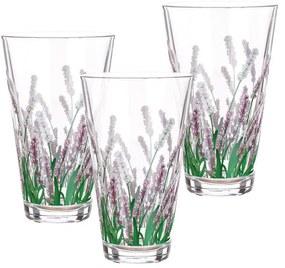 Sada 3 ks pohárov Lavender