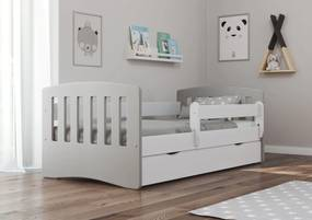 Detská posteľ Ourbaby Classic Greyhead biela 180x80 cm