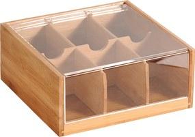 Kesper Bambusový box na čaje
