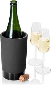 Chladiaca nádoba na víno, čierna Magisso