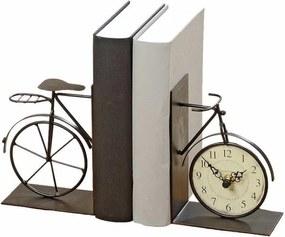 DekorStyle Zarážky do kníh BICYCLE čierne