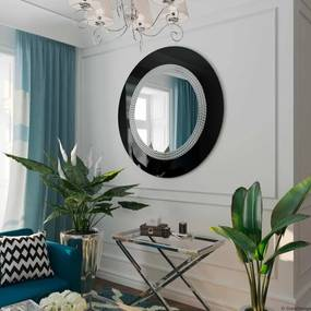 Zrkadlo Elegance black