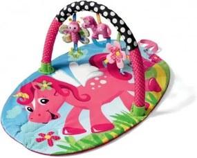 ZA0870 DR Farebná hracia deka - ružový jednorožec