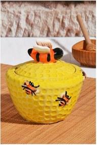 Dóza na med s viečkom Honey