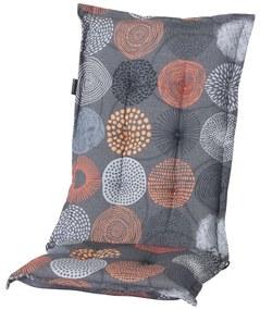 Madison Podložka na stoličku Fantasy 123x50 cm, oranžová PHOSB286