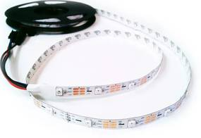 Ledco LED digitály pás, 2812BIC, 5050 SMD, 30 led/m, 30pix/m, 7.2W/m, IP00, 5V DC