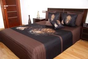 DomTextilu Prehozy na manželskú posteľ s leoparadom Šírka: 220 cm | Dĺžka: 240 cm 3533-103391
