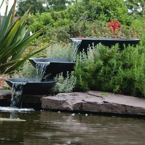 Ubbink záhradná mušľová fontána s čerpadlom 35/45/55 cm