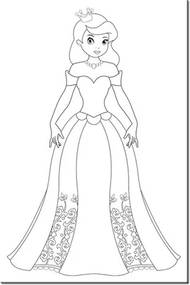 Omaľovánka na plátne Krásna princezná 20x30cm PM1833A_1S