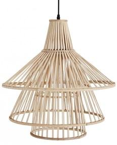 MADAM STOLTZ Bambusový luster Natural