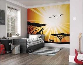 ohpopsi Fototapeta - Sunset Safari 350x280 cm