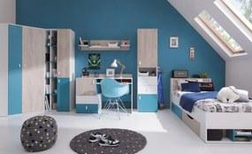 Meblar Detská izba Planet A Farba: Biela