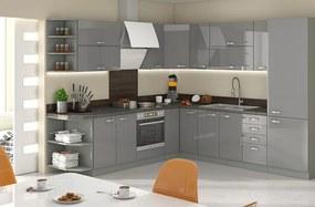 Elegantná kuchynská linka v tvare L 260x270 cm – HULK